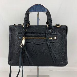 New Rebecca Minkoff Micro Regan Leather Satchel